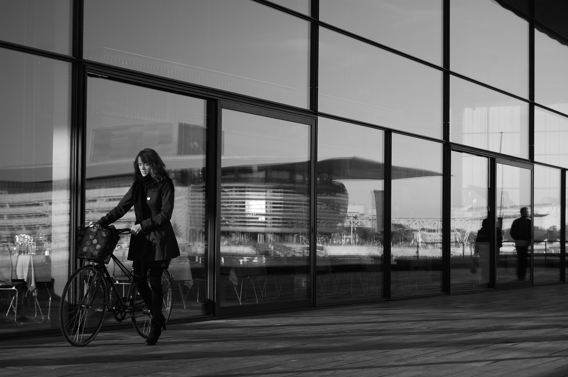 dviratis mieste